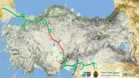 Ankara Niğde Otoyolu Haritası